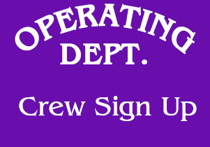 Operating Dept Crew Sign Up